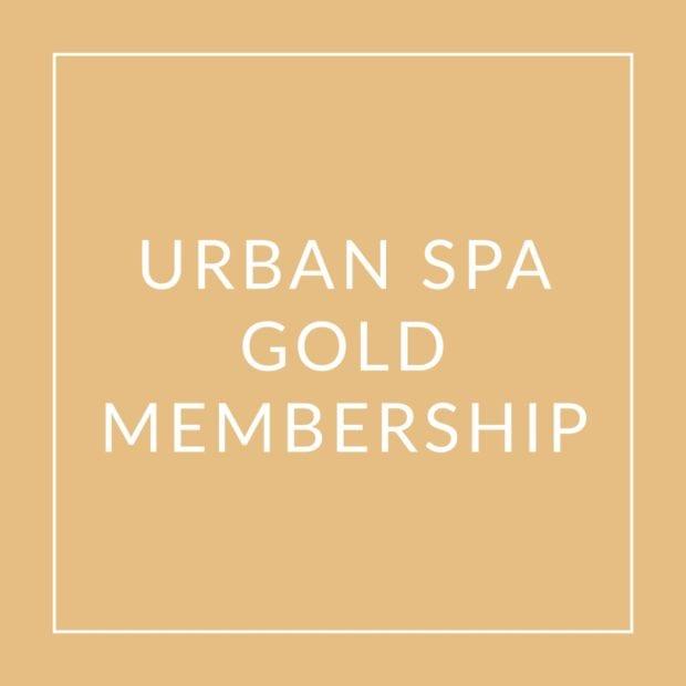 Urban Spa Gold Membership