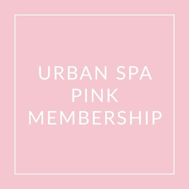 Urban Spa Pink Membership