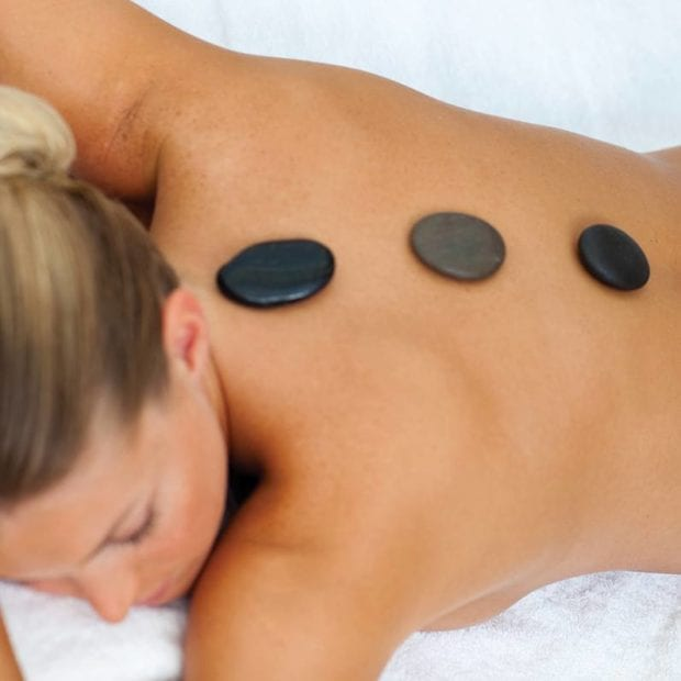 1 Hr Hot Stone Lomi Lomi Massage