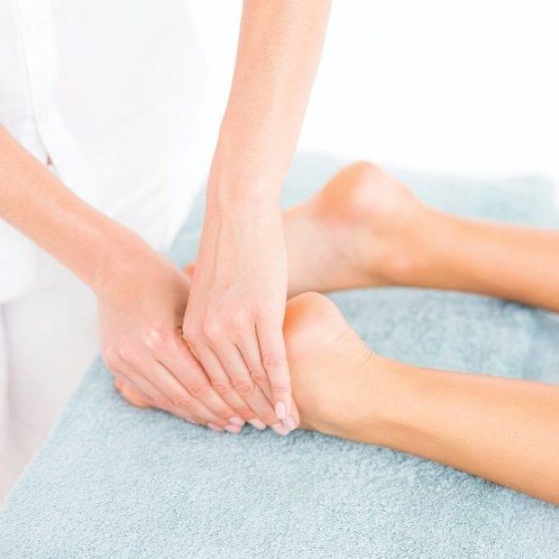 Pressure Point Foot Massage