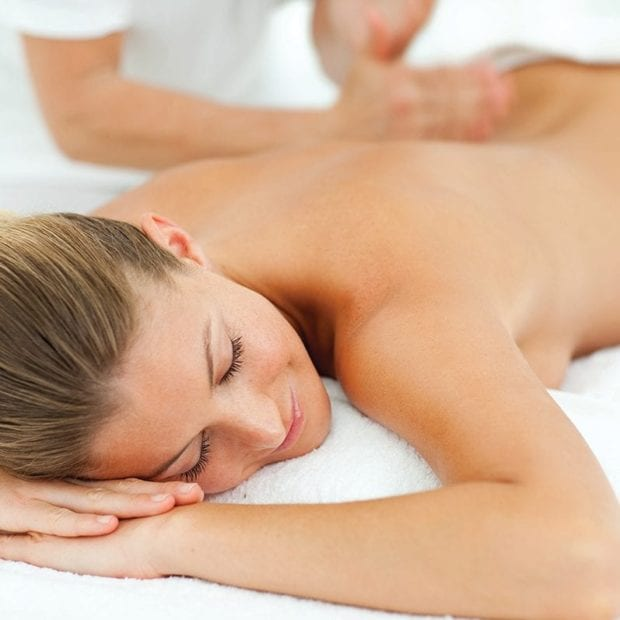 Aromatherapy Body Massage with Body Polish