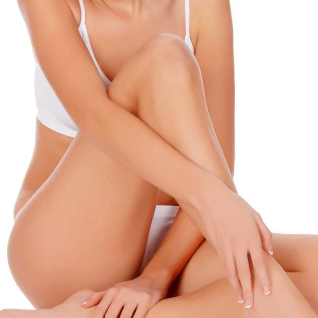 Top Half Leg & Bikini Wax